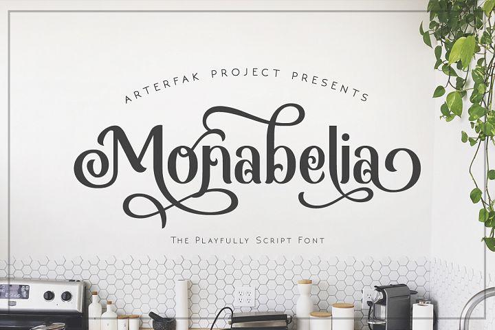 Monabelia Typeface