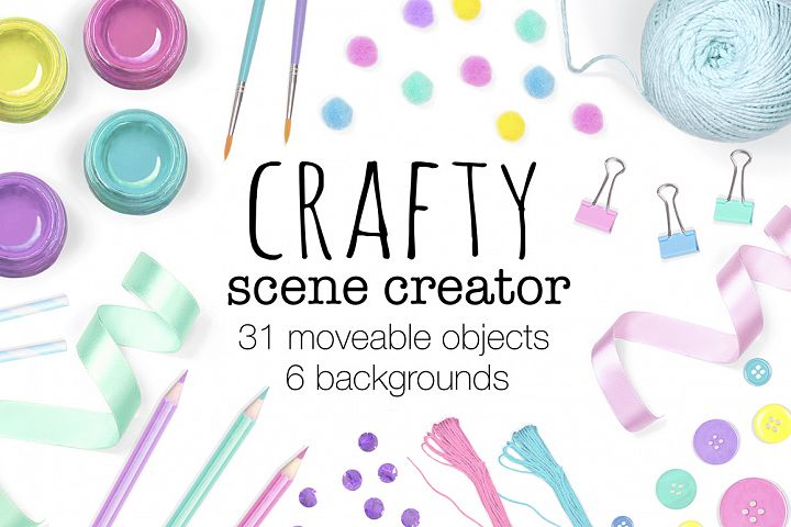 Craft Scene Creator - Top View