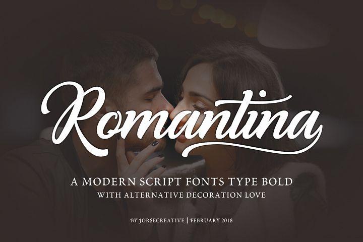 Romantina Font