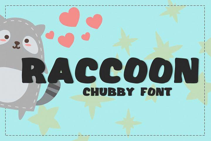 Raccoon Font