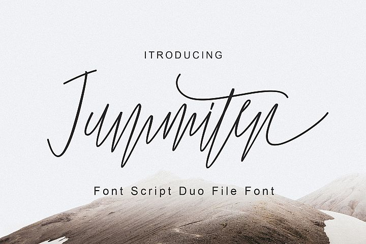Jummiten Font Duo