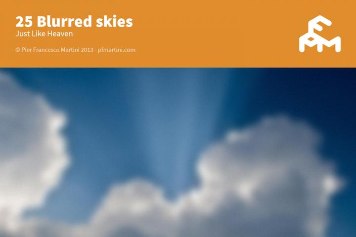 25 Blurred skies