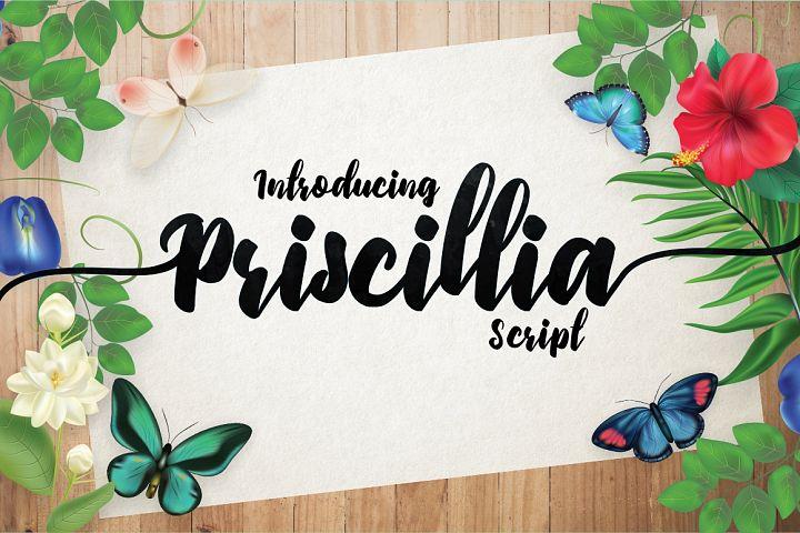 Priscillia Script