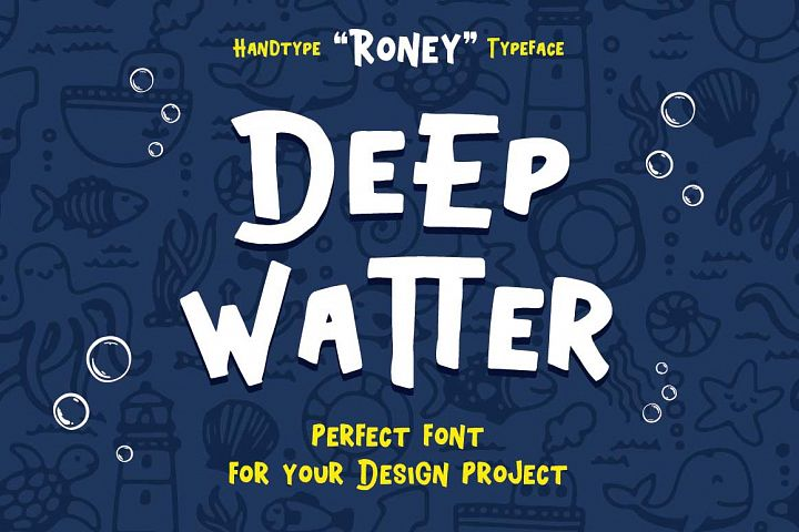 Roney Typeface