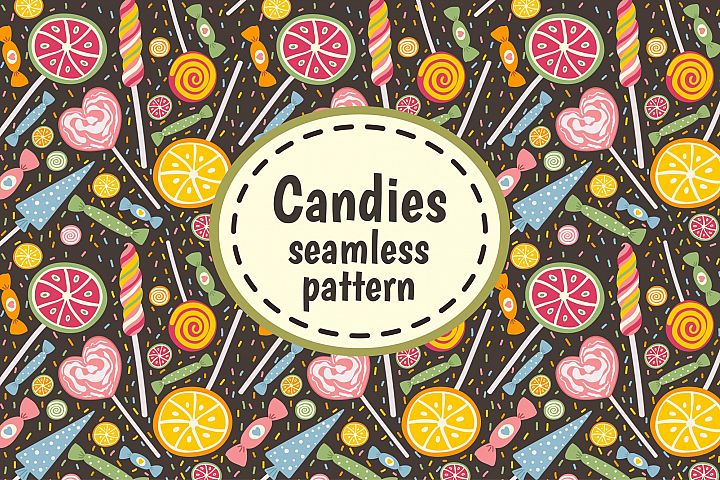 Candies and Sweets: pattern