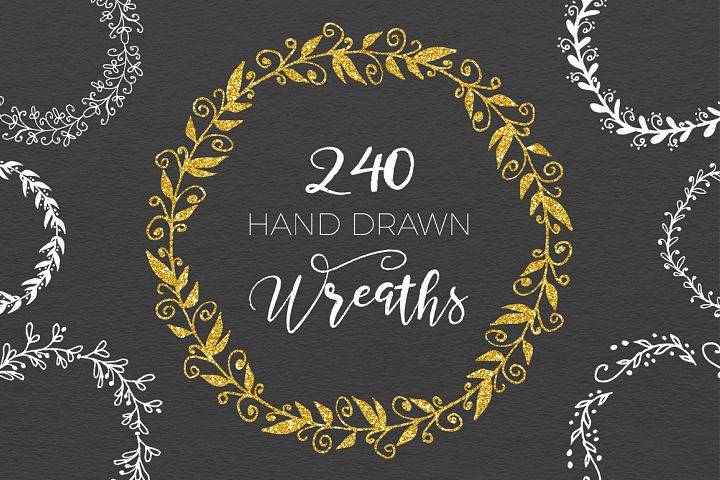 240 Wedding Wreaths - Free Design of The Week
