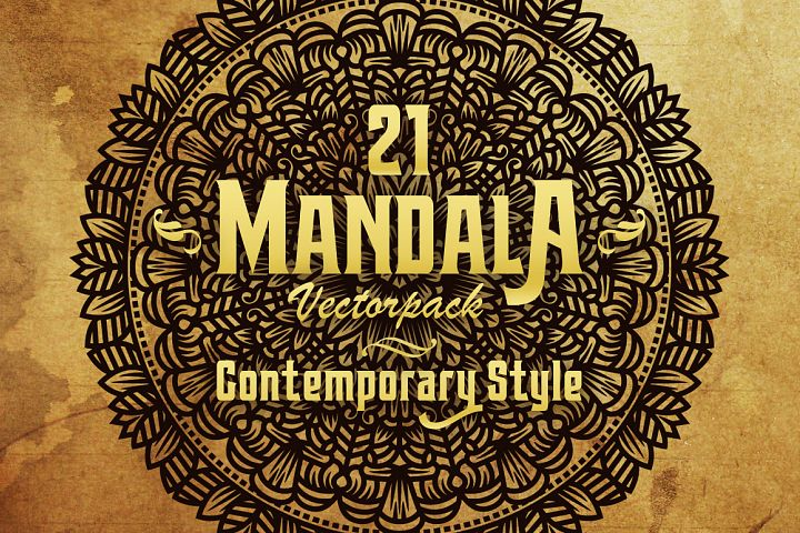 Mandala (Contemporary) Style Vol III