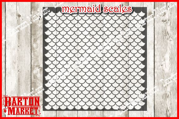 Mermaid Scales SVG / EPS / PNG