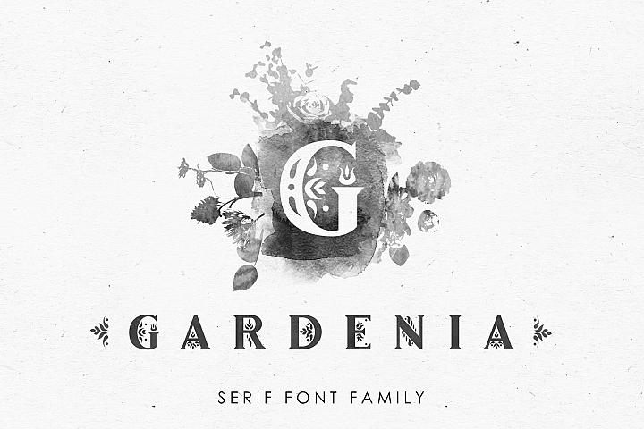 Gardenia - Serif Font Family