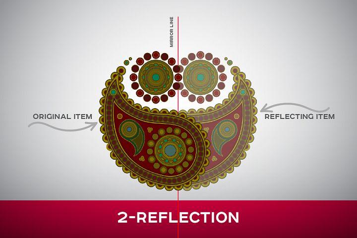 Symmetric Drawing Ai Templates example 2