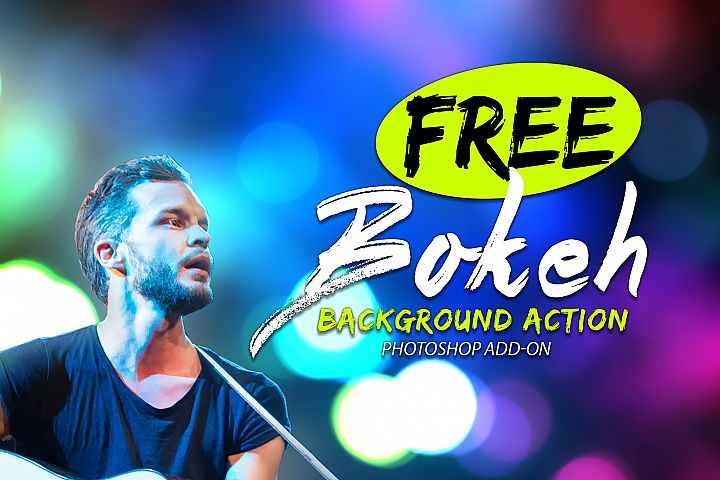 Free Bokeh Photoshop Action example 4