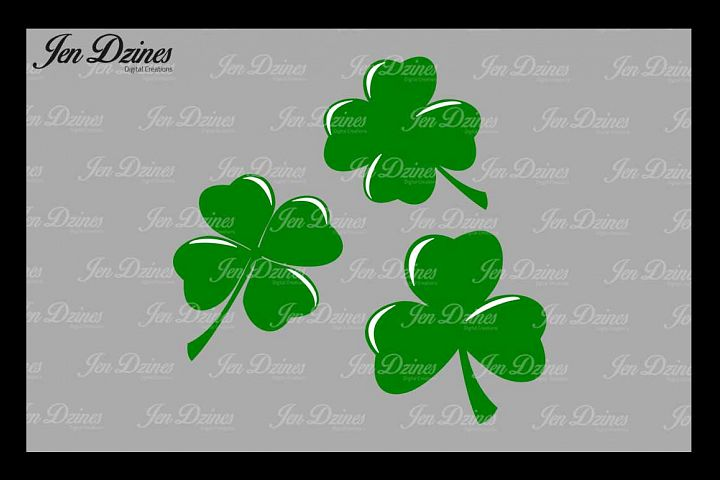 Lucky Clovers SVG DXF EPS PNG