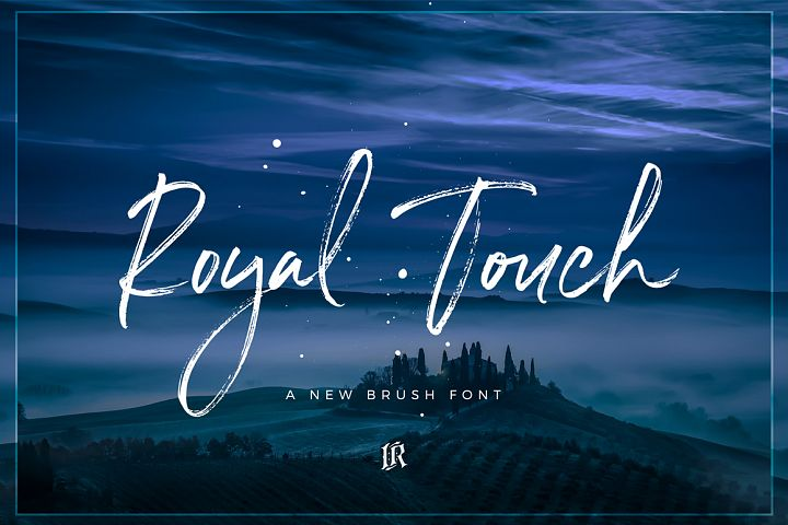 Royal Touch Font