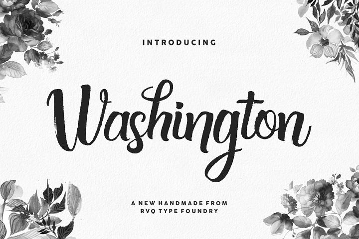 Washington script