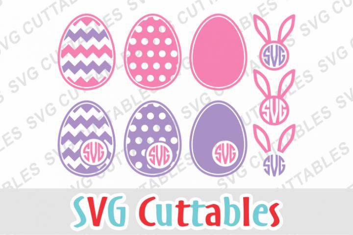 Easter Monogram Frames