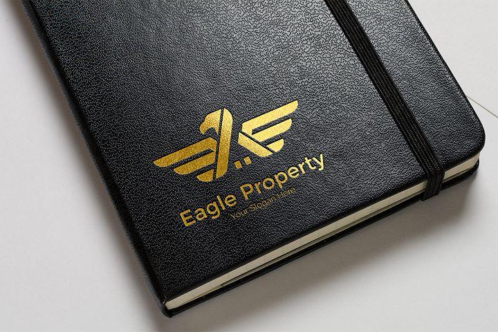 Eagle Construction Logo - Animal logo