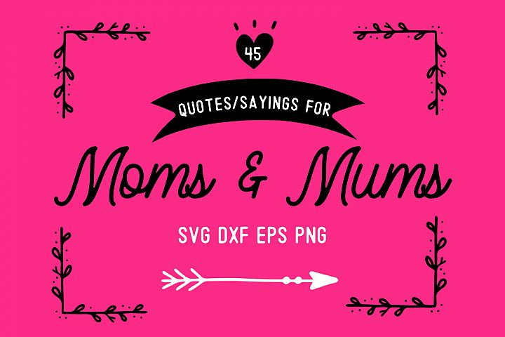 Mothers Day Bundle for Moms and Mums - 19thstudio