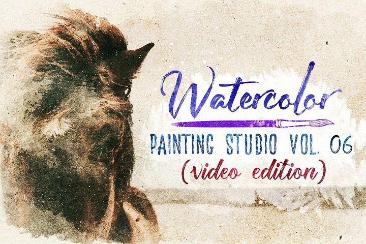 Watercolor Painting Studio Vol. 06
