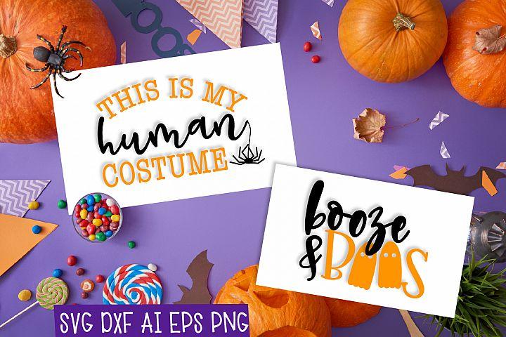 Human Costume & Booze & Boos Duo