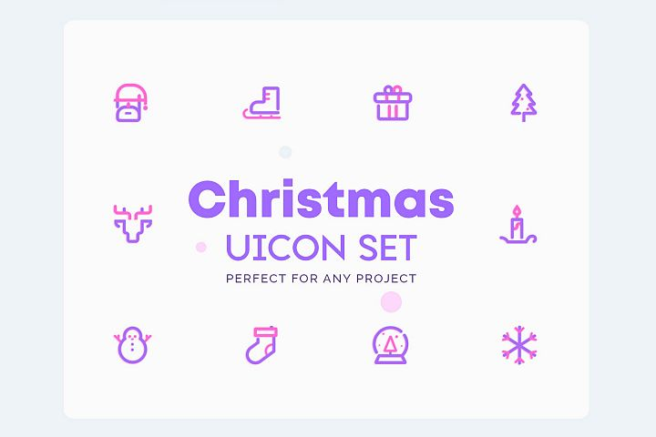 UICON - Christmas Icons Set