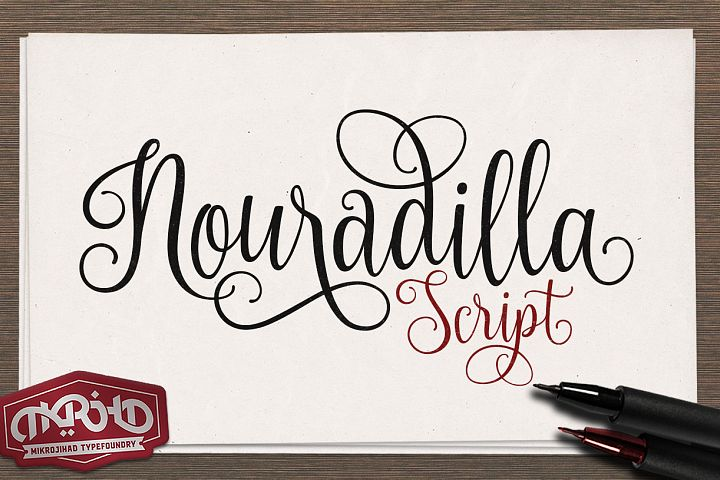 Nouradilla Script  - Free Font of The Week