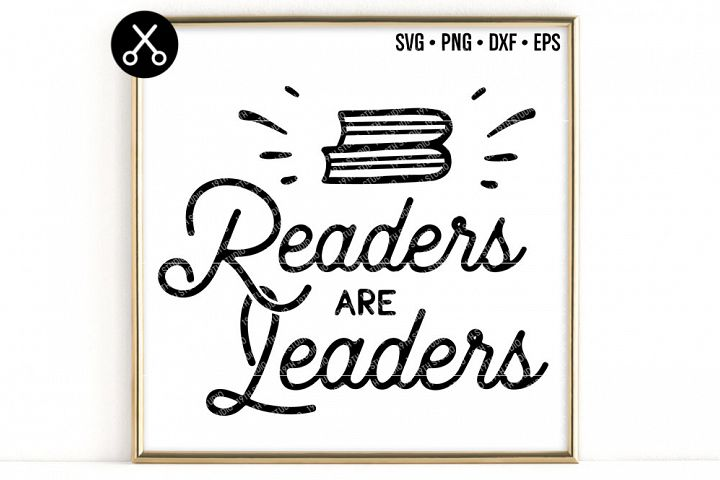 READERS ARE LEADERS SVG