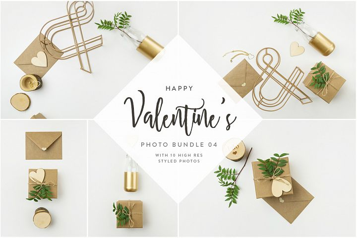Valentines Styled Photo Bundle - Natural Tones