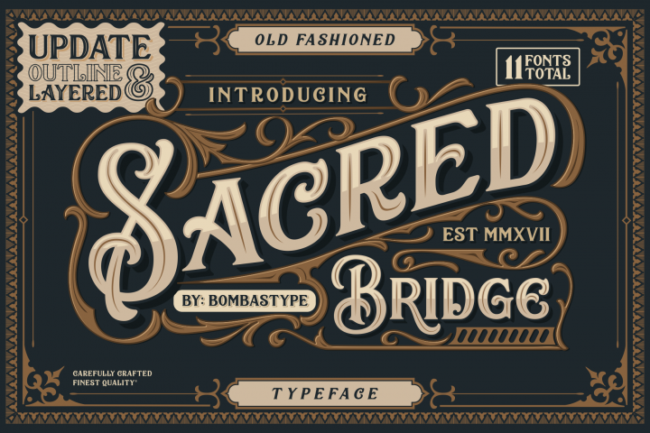 Sacred Bridge + Extras BIG UPDATE !