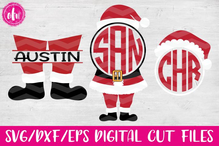 Santa Set - SVG, DXF, EPS Cut File