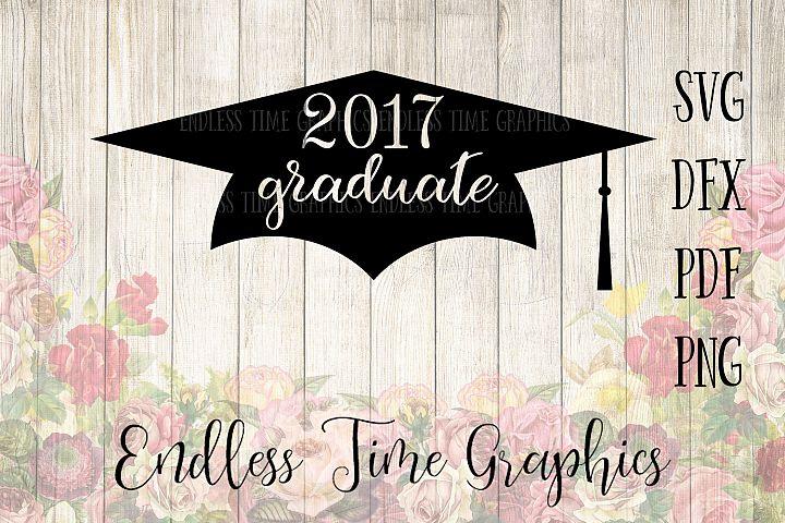 2017 Graduation SVG Cut File. 2017 Graduation DXF File. 2017 Graduate. Graduation Digital Download. DIY Graduate Gift. Graduate Cut File