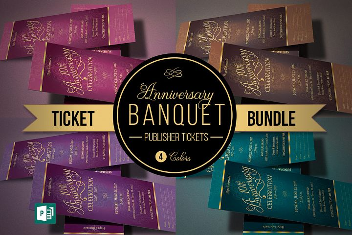 Church Anniversary Publisher Ticket Bundle