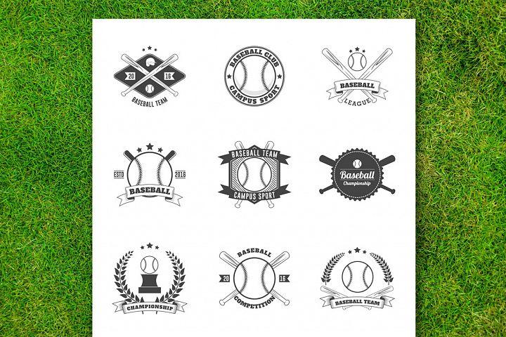 Baseball Badge Collection