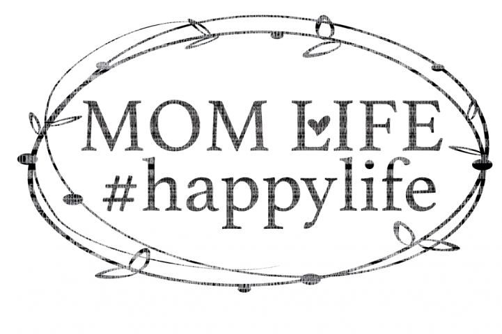 Blessed Mama SVG, Mom Life, Mothers Day SVG, Files for Silhouette and Cricut Design Space Cut File Printable Transfer Decal DXF Commercial Use