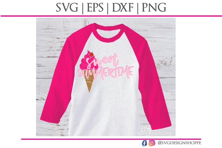 Sweet Summertime SVG EPS DXF PNG