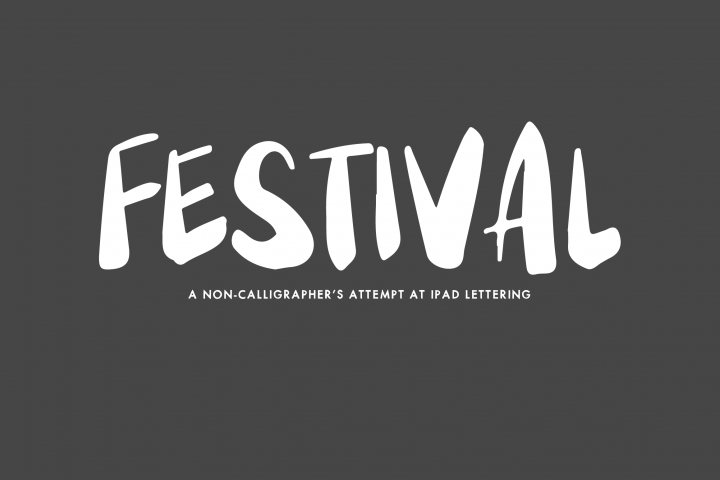 Festival - A Pair of Handwritten Fonts