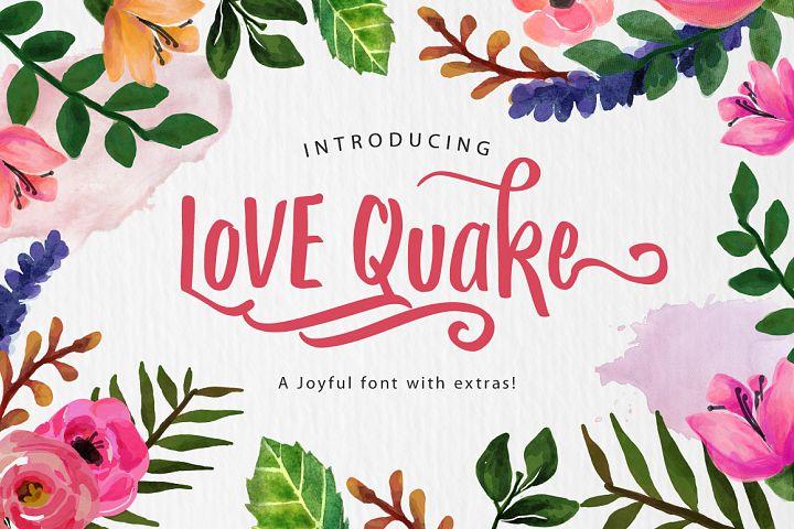 Love Quake Font