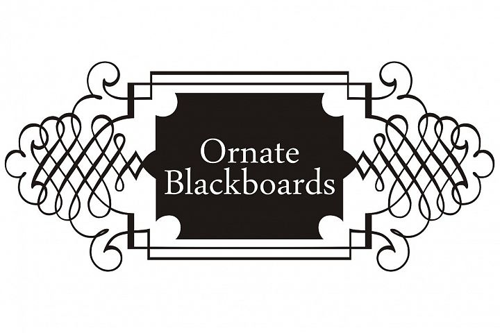 Ornate Blackboards pack