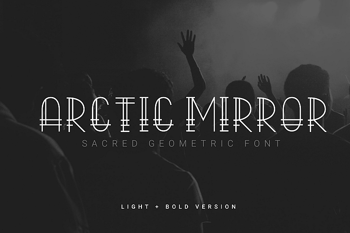 Arctic Mirror - Sacred Font