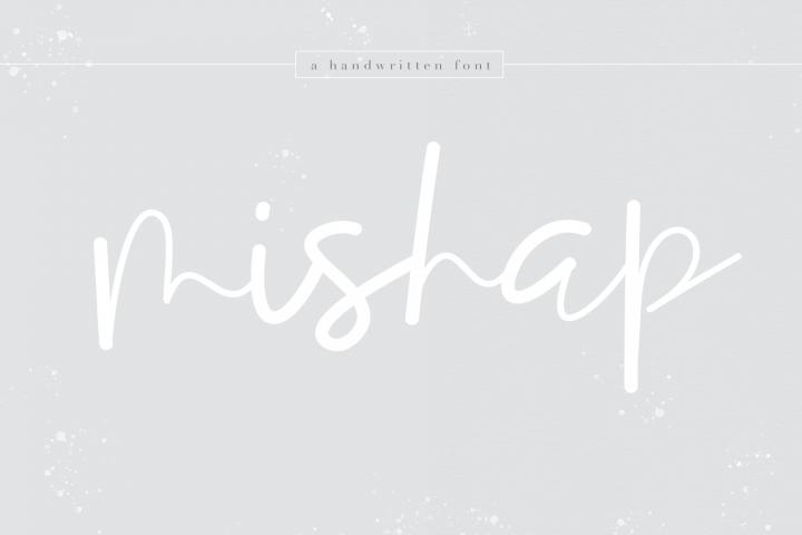 Mishap - A Chic Handwritten Font