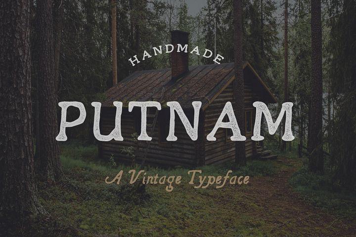 Putnam   A Vintage Typeface