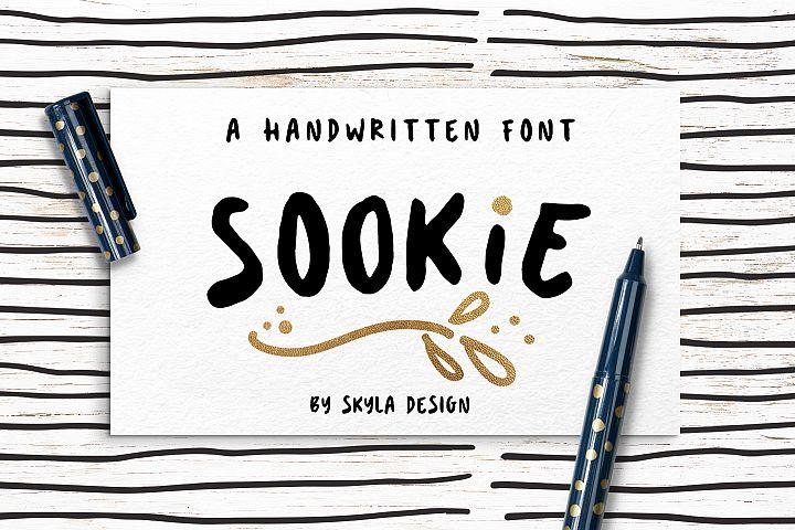Cute handwritten font, Sookie