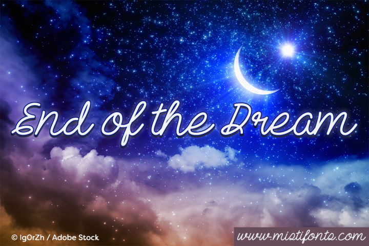 Download End Of The Dream Font - Free & Premium Fonts Downloads