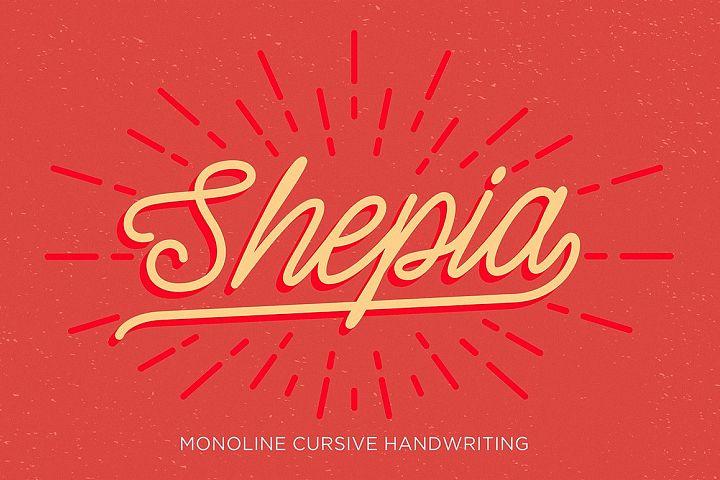 Shepia Script