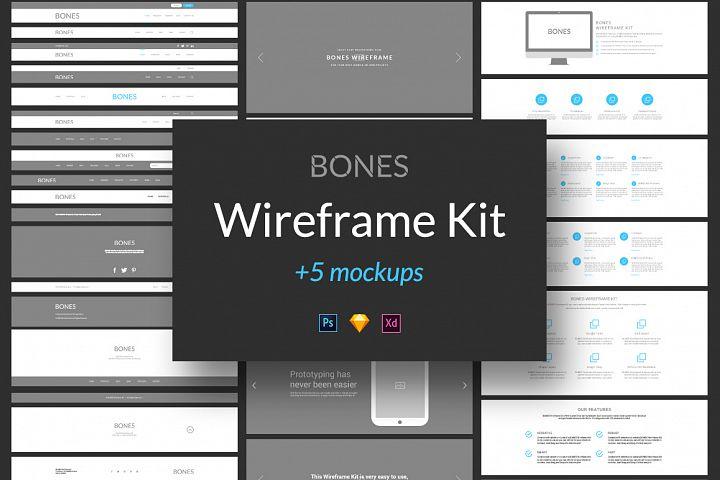 Bones Wireframe Kit