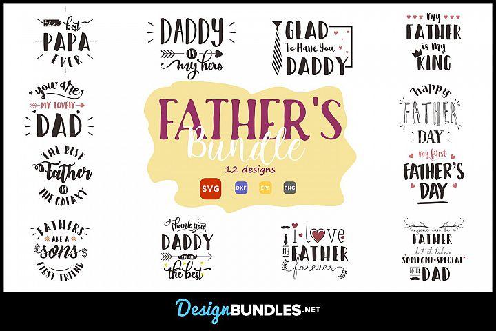 Fathers SVG Bundle