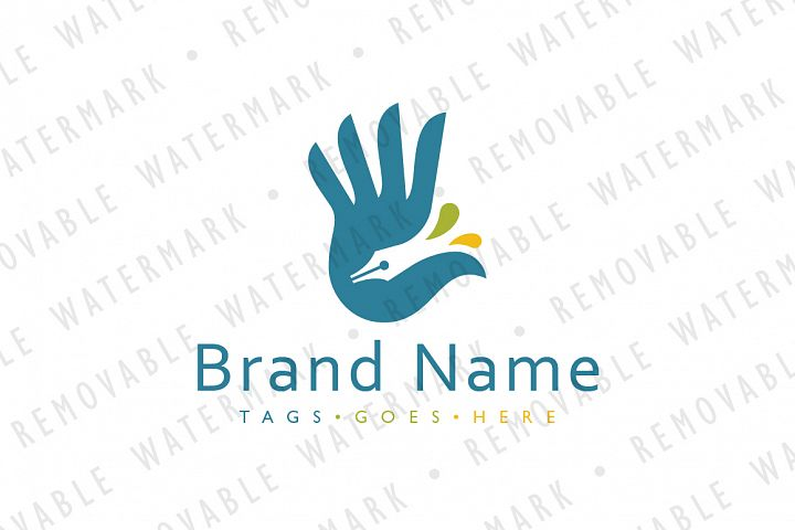Hand of Creativity Logo