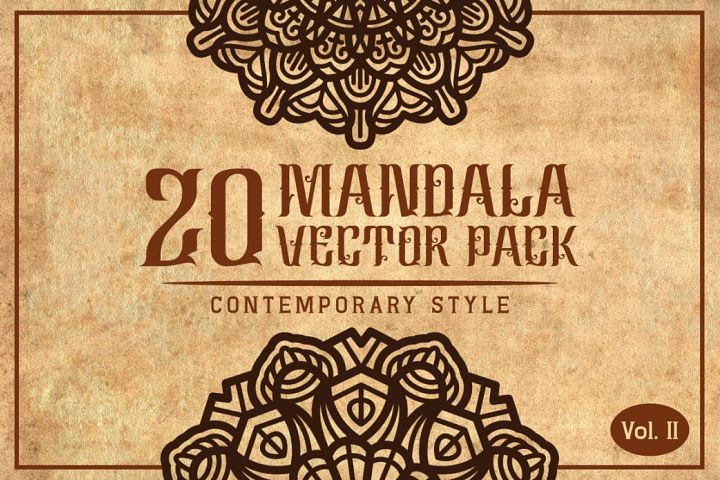 Mandala (Contemporary Style) Vol. II - Free Design of The Week