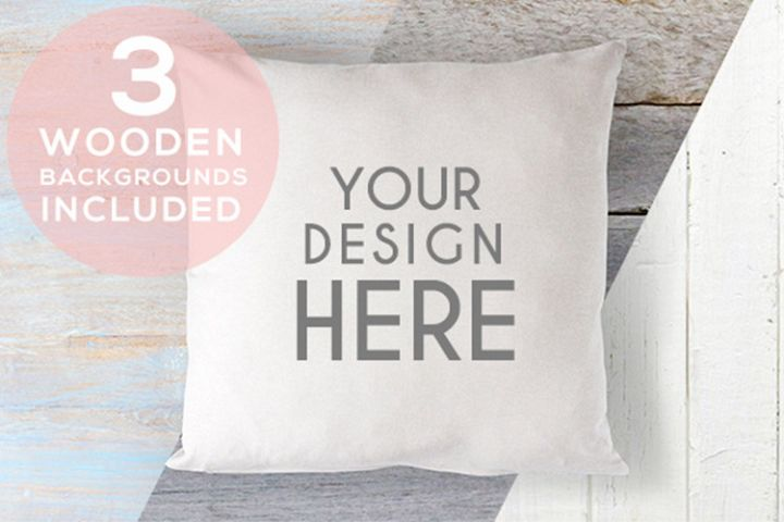 Cushion Mock Up Stock Photo A167