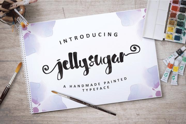 Jellysugar Typeface