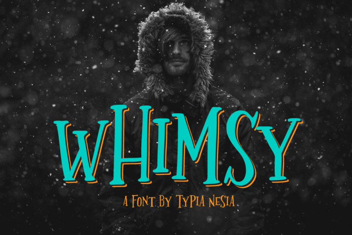 Whimsy - Free Font of The Week